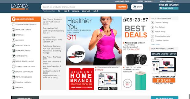 Ecommerce website singapore 2014 5