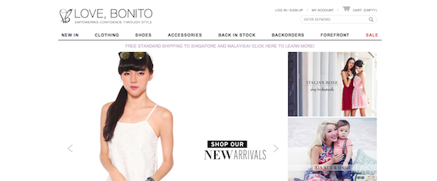 Top Blogshops Singapore 2014 Love Bonito