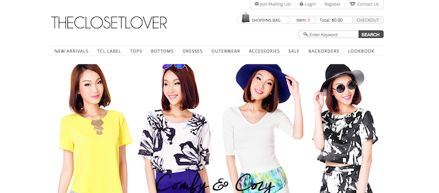 Top Blogshops in Singapore 2014 TheClosetLover
