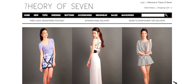 Top Blogshops in Singapore 2014 TheoryOfSeven